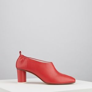 Gray Matters Shoes - Micol Pumps Rosso Fragola (Strawberry Red)